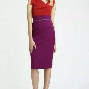 Black Halo Red Jackie Sheath Formal Dress Color